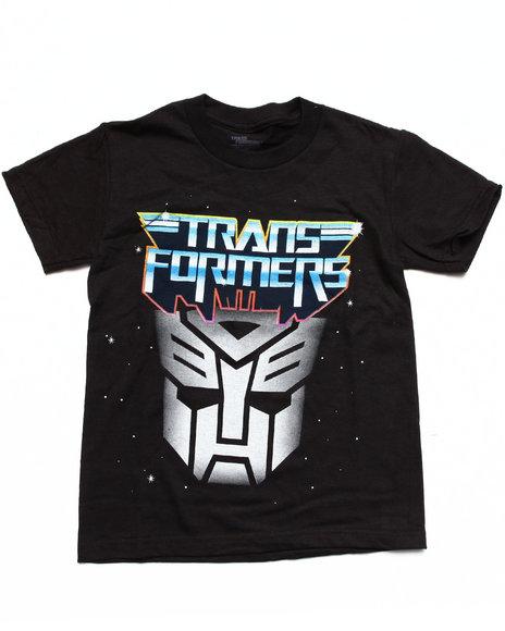 Arcade Styles - Boys Black Transformers Tee (8-20) - $7.99