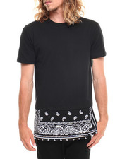 Men - Bandana Border Print Tee