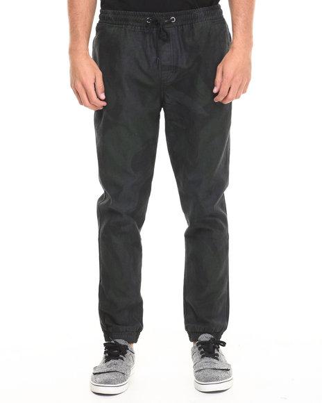 Insight Black Brushstroke Denim Pant