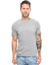 True Religion - True Stitched Short Sleeve Crew Neck Tee