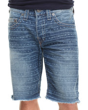 True Religion - Geno Lazer Print Cut Off Short