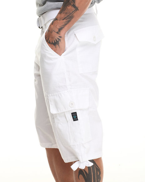 Enyce White Yosemite Cargo Short