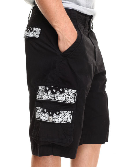 Flysociety Black Shorts
