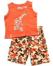 Sets - 2 PC SET - TANK & CAMO SHORTS (INFANT)