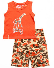Sets - 2 PC SET - TANK & CAMO SHORTS (2T-4T)
