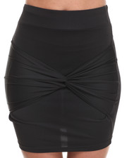 Skirts - Tie Wrapped Front Skirt