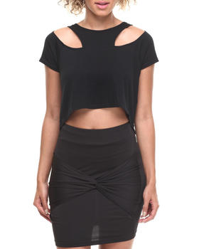 Baby Phat - Cut-Out Cropped Top