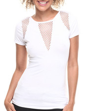 Baby Phat - Mesh Inserts Top