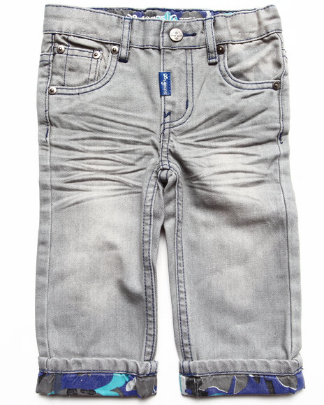 LRG - Boys Grey Anatual Pallette Straight Jeans (Infant)