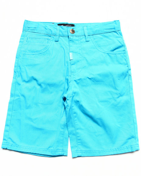 LRG - Boys Blue Chino Shorts (8-20)