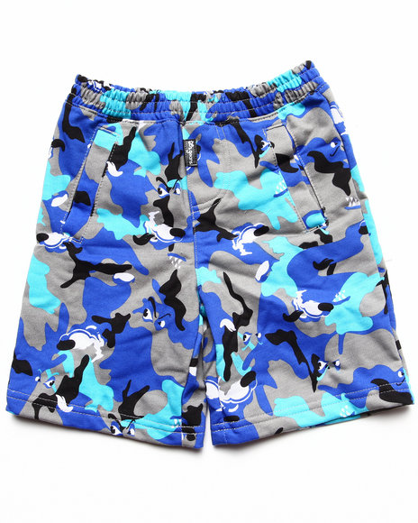 LRG - Boys Grey Wolf Camo Short (2T-4T)