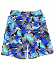 Bottoms - WOLF CAMO SHORT (4-7)