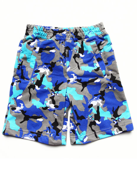 LRG - Boys Grey Wolf Camo Short (4-7)