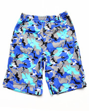 Bottoms - WOLF CAMO SHORT (8-20)