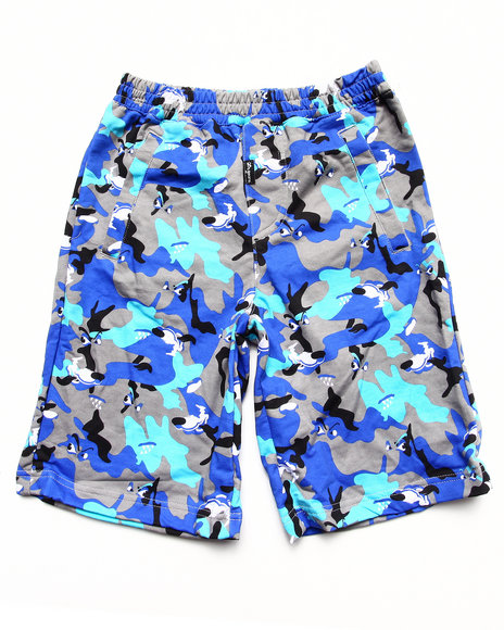 LRG - Boys Grey Wolf Camo Short (8-20)