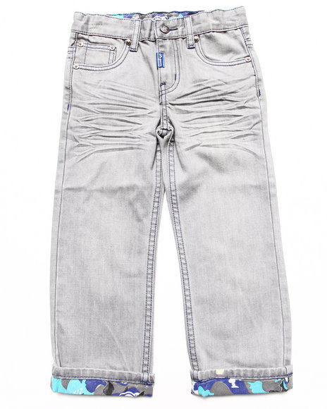 LRG - Boys Grey Anatual Pallette Straight Jeans (4-7)