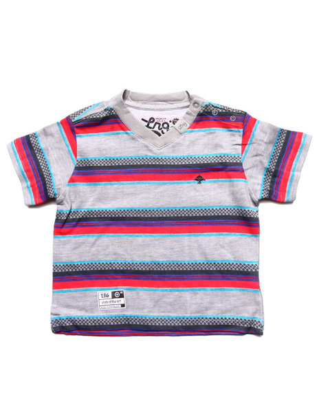 LRG Boys Grey L-Megawatt Tee (Infant)