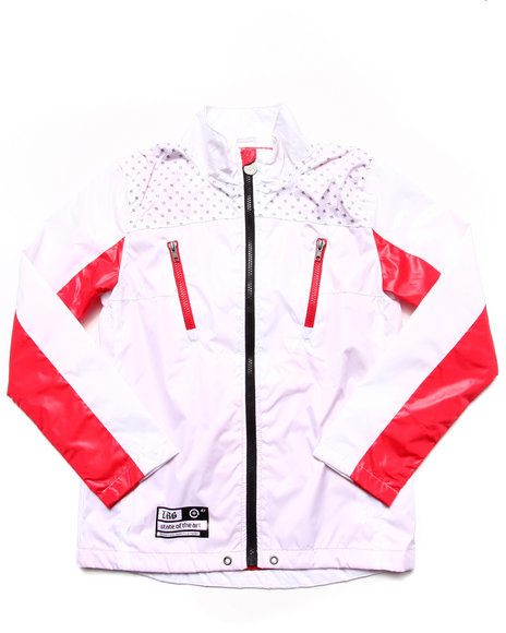 Lrg - Boys White State Of The Art Windbreaker (8-20)