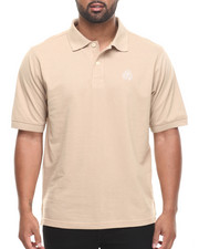 Shirts - Ralph  Solid Pique Polo Shirt