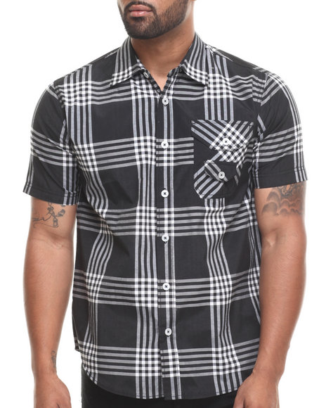 Enyce Black George S/S Button-Down
