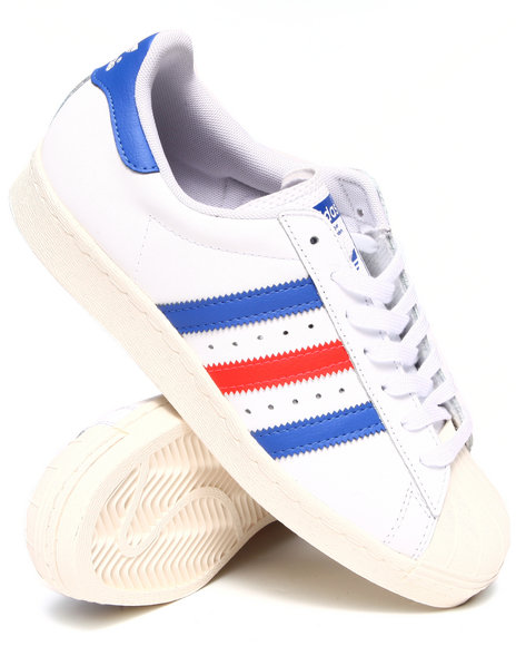 Adidas White Superstar 80'S Sneakers