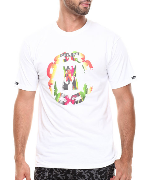 Crooks & Castles - Men White Apparition T-Shirt - $15.99