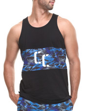Crooks & Castles - Cerulean Tank Top