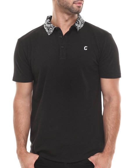 Crooks & Castles - Men Black Bandit S/S Polo