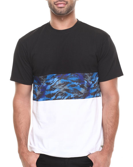 Crooks & Castles Black Cerulean T-Shirt