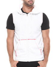 Buyers Picks - Solid Unlined Sleeveless Fleece Vest