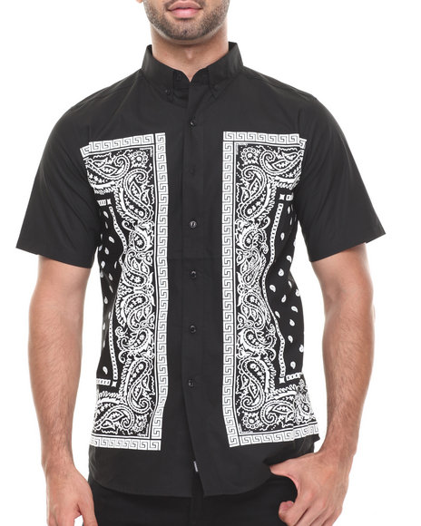 Crooks & Castles - Bandit S/S Button-Down