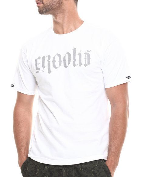Crooks & Castles - Men White Undertaker T-Shirt