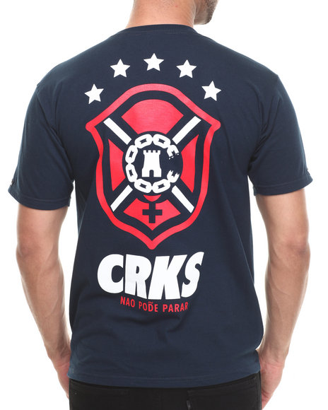Crooks & Castles - Men Navy Icon T-Shirt - $32.00