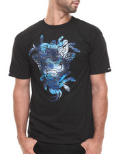 T-Shirts - Cerulean Camo Medusa T-Shirt