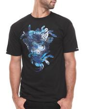 Crooks & Castles - Cerulean Camo Medusa T-Shirt