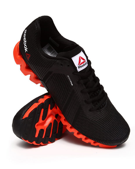 Reebok - Men Black,Orange Zigtech 3.0 Energy Sneakers