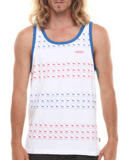 WESC - Aztec Stripe Tank Top