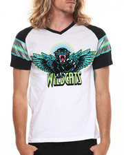 Men - Wildcats Contrast S/S Tee