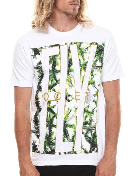 Flysociety White Bamboozled T-Shirt