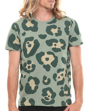 Men - Cigas Cattus Leopard - Print S/S Tee