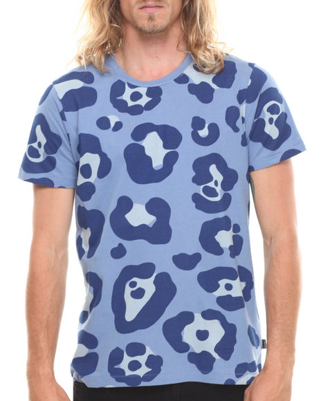 Leopard Print T Shirts Men