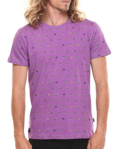 Wesc - Men Purple Dartanjang S/S Tee