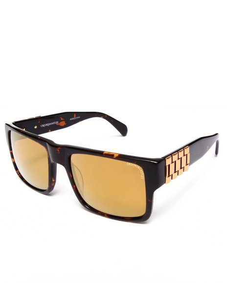 Crooks & Castles Comrade Sunglasses Brown