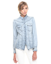 Button-downs - Virny Denim Shirt