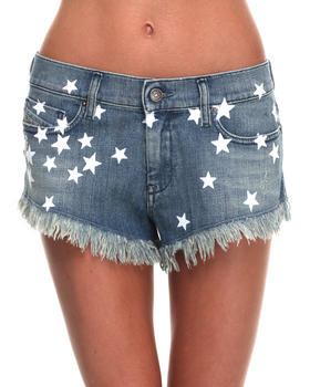 Diesel - Stars Denim Shorts