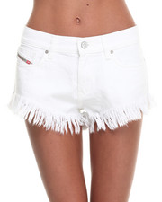 -FEATURES- - Fahima Denim Shorts