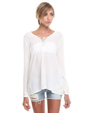 Blouses - Boyfriend Top