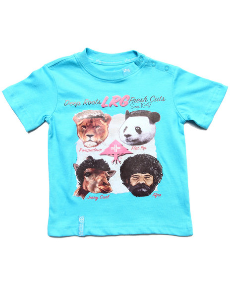Lrg - Boys Blue Fresh Cuts Tee (Infant)