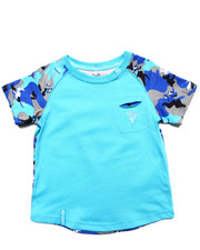 Sizes 2T-4T - Toddler - WOLFLAND RAGLAN TEE (2T-4T)