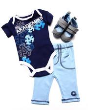 Infant & Newborn - 3PC SNEAKER SET (NEWBORN)